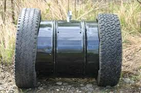 Barrel with Tires